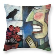 The Bird Watcher Throw Pillow