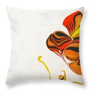 The Birth Of A Butterfly Throw Pillow