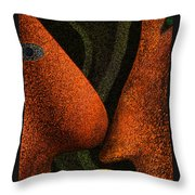 The Birth Of A New Life Throw Pillow