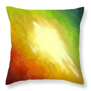 The Birth Of Conceit Throw Pillow