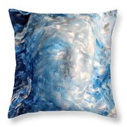 The Birth Of Venere  Throw Pillow