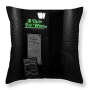 The Bistro Throw Pillow