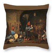 The Bivouac Throw Pillow
