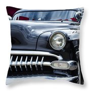 The Black 54 Throw Pillow