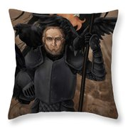 The Black Company - Croaker Throw Pillow