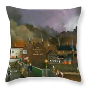 The Black Country Museum 2 Throw Pillow