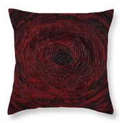 The Black Hole Throw Pillow