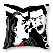 The Black Lodge Throw Pillow