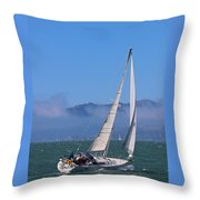The Black Pearl Throw Pillow