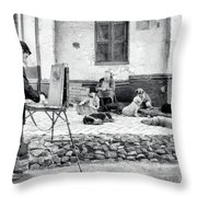 The Blind Side Throw Pillow