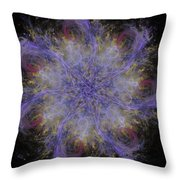 The Blizzard Throw Pillow
