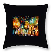 The Block Throw Pillow