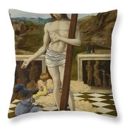 The Blood Of The Redeemer Throw Pillow