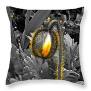 The Bloom Within Throw Pillow
