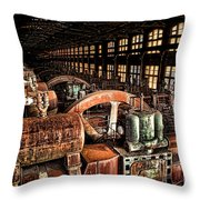 The Blower House Throw Pillow