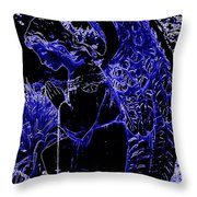 The Blue Angel Throw Pillow