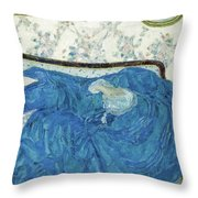The Blue Gown, 1917  Throw Pillow