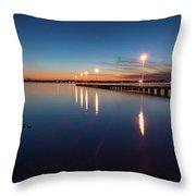 The Blue Hour #2 Throw Pillow
