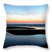 The Blue Zone California Throw Pillow