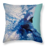 The Blues 5 Throw Pillow