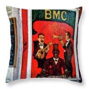 The Bmc Throw Pillow