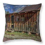 The Boars Nest Throw Pillow