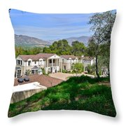 The Boddy House Throw Pillow