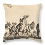 The Bohemians Marching: The Vanguard Throw Pillow