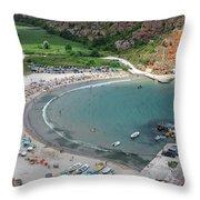 The Bolata Beach Throw Pillow