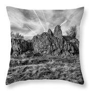 The Bomb Rocks Throw Pillow