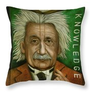 The Book Of Knowledge  Throw Pillow