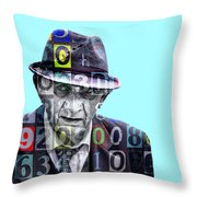 The Bookie Throw Pillow
