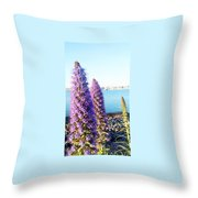 The Booming  Throw Pillow