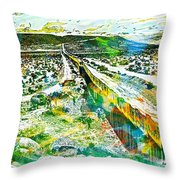 The Border Throw Pillow