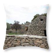 Bories Village - Luberon Throw Pillow