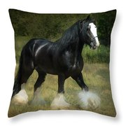 The Boss C Throw Pillow