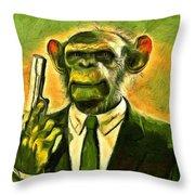 The Boss - Da Throw Pillow