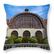The Botanical Building Throw Pillow