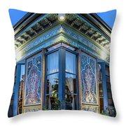 The Boulder Dushanbe Teahous Throw Pillow