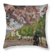 The Boulevard Throw Pillow