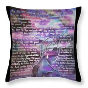 The Boy Who Lived Among The Star Throw Pillow