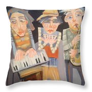 The Boys In The Band Throw Pillow