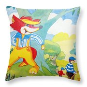 The Boys In The Hood Throw Pillow