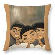 The Boyz In The Hood Throw Pillow