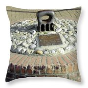 The Brading Bull Ring Throw Pillow