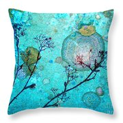 The Branches And The Moon Throw Pillow