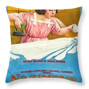 The Brat 1919 Throw Pillow