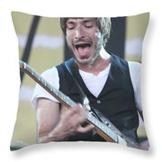 The Bravery Michael Zakarin Throw Pillow
