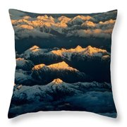 The Break Of Day Throw Pillow