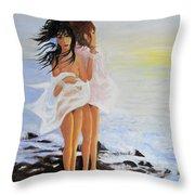 The Breeze - La Brezza Throw Pillow